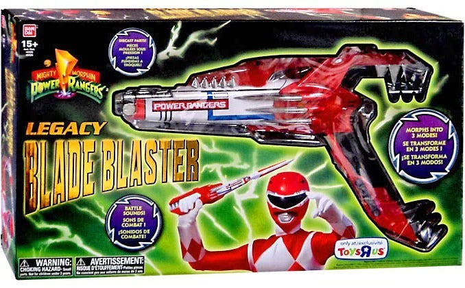 Bandai Power Rangers Legacy Mighty Morphin Blade Blaster