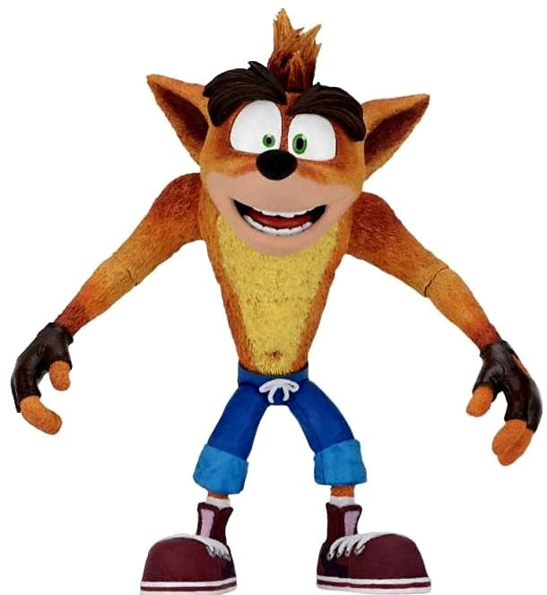 NECA Crash Bandicoot: Crash 7-inch Action Figure