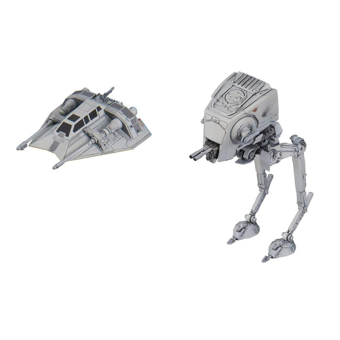 Bandai Hobby Star Wars AT-ST & Snowspeeder 1/144 Model Kit