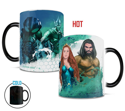Morphing Mugs DC Comics Aquaman Movie Heat-Sensitive Mug (SDCC 2018 Exclusive)