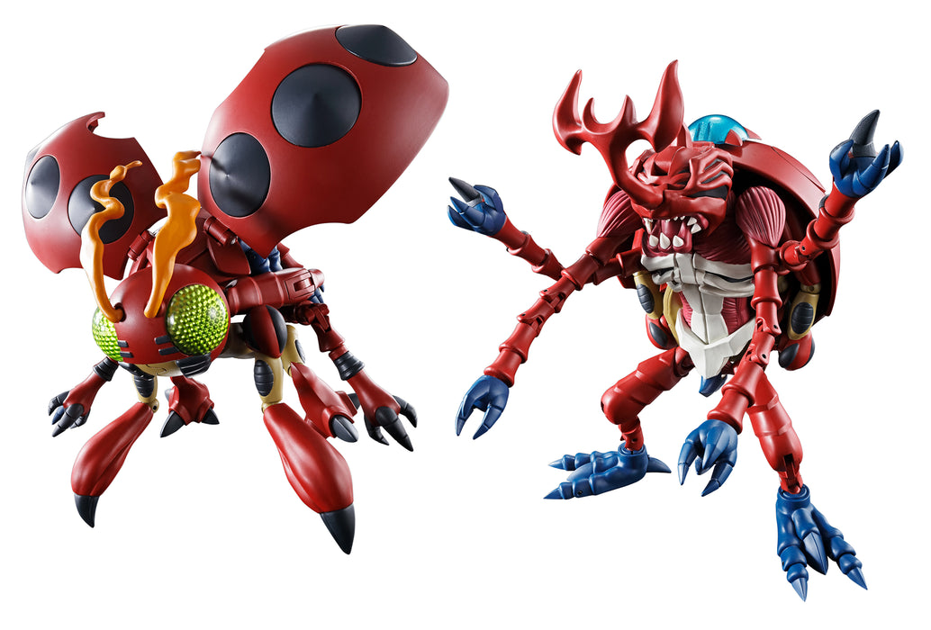 Bandai Tamashii Nations Digimon: Digivolving Spirits - 06 Atlur Kabuterimon Action Figure