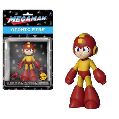 Funko Megan Man 4-inch Action Figure - Atomic Fire Mega Man (Chase Variant)