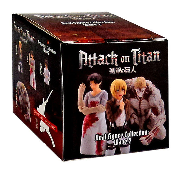 Attack on Titan Real Figure Collection Wave 2 Mystery Box