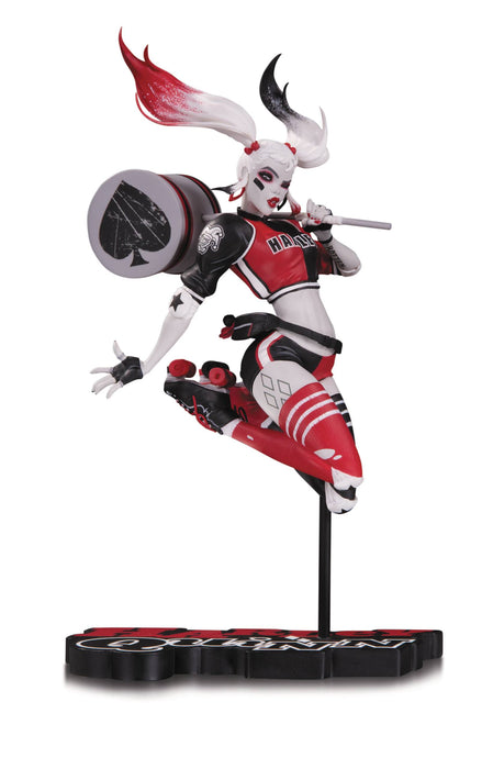 DC Collectibles Harley Quinn: Red, White & Black - Harley Quinn by Babs Tarr Statue