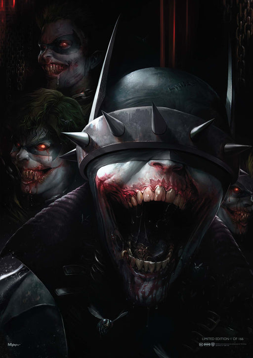 Trend Setters DC Comics: The Batman Who Laughs MightyPrint Wall Art (2019 SDCC Exclusive)