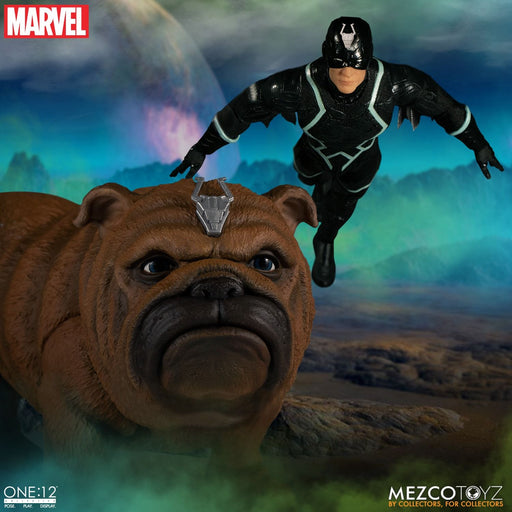Mezco One:12 Collective Marvel - Black Bolt & Lockjaw 2-Pack