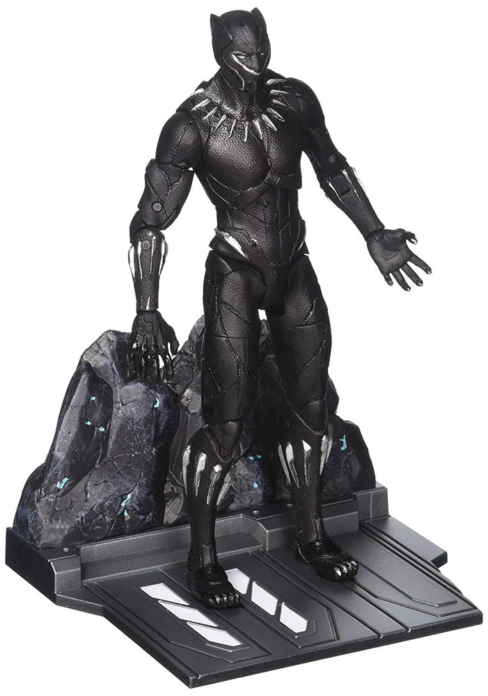 Diamond Select Toys Marvel Select Black Panther (Movie Version) Action Figure