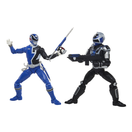 Hasbro Power Rangers: Lightning Collection - S.P.D. B-Squad Blue Ranger & S.P.D. A-Squad Blue Ranger 2-Pack