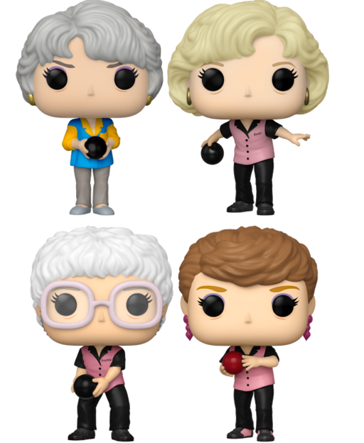 Funko Pop! Television: The Golden Girls - Bowling Competition Ver. (Set of 4)