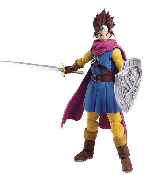 Square Enix Dragon Quest III Bring Arts Hero Action Figure