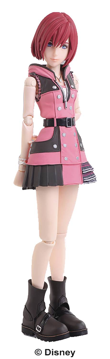 Square Enix Kingdom Hearts III Bring Arts Kairi Action Figure
