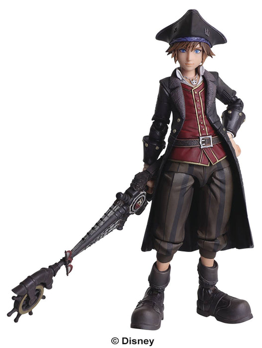 Square Enix Kingdom Hearts III Bring Arts Sora (Pirate Version) Action Figure