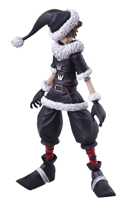 Square Enix Kingdom Hearts II Bring Arts Sora (Christmas Town Ver.) Action Figure