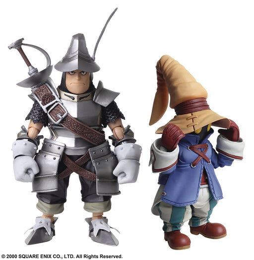 Square Enix Final Fantasy IX Bring Arts Vivi & Steiner Action Figure Set