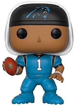newest 05ce0 72177 Funko Pop! NFL: Carolina Panthers - Cam Newton (Color Rush Uniform)