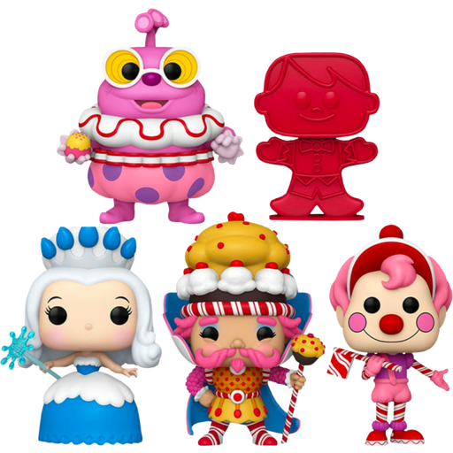 Funko Pop! Retro Toys: Candyland (Set of 5)