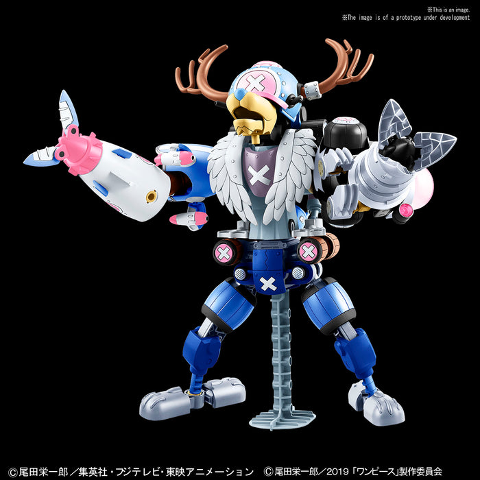 Bandai Hobby One Piece Chopper Robo (TV Animation 20th Anniversary One  Piece Stampede Color Ver  Set) Model Kit