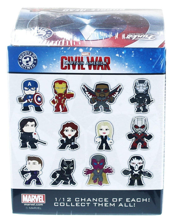 Funko Captain America: Civil War Mystery Mini Blind Box Display (Case of 12)