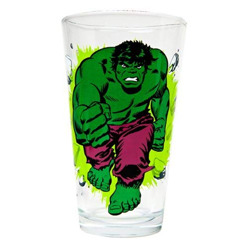 Toon Tumblers Marvel Incredible Hulk (Classic Version) 16 oz. Pint Glass