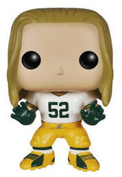 Funko Pop! NFL: Green Bay Packers - Clay Matthews