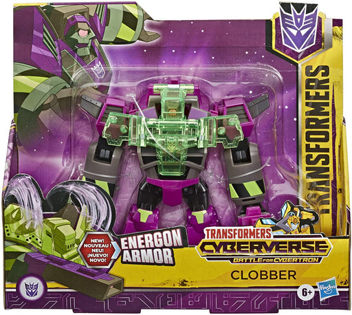 Hasbro Transformers Cyberverse Action Attackers Ultra Class Action Figure - Clobber