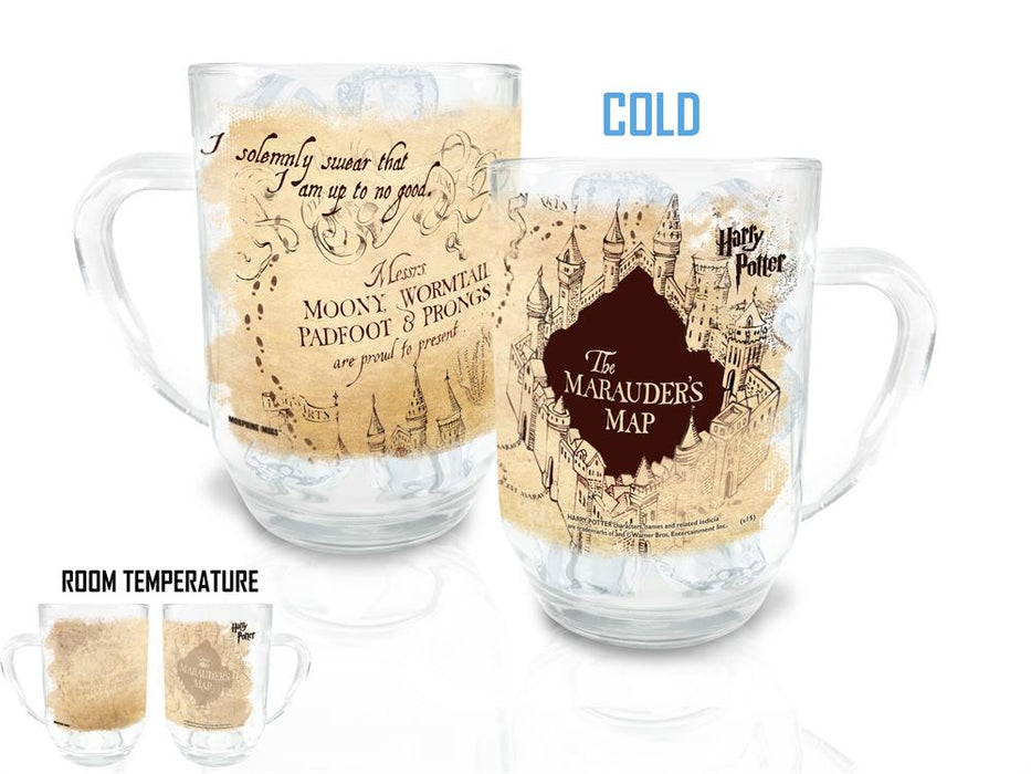 Morphing Mugs Harry Potter (Marauders Map) Cold-Sensitive 20oz Clue Mug