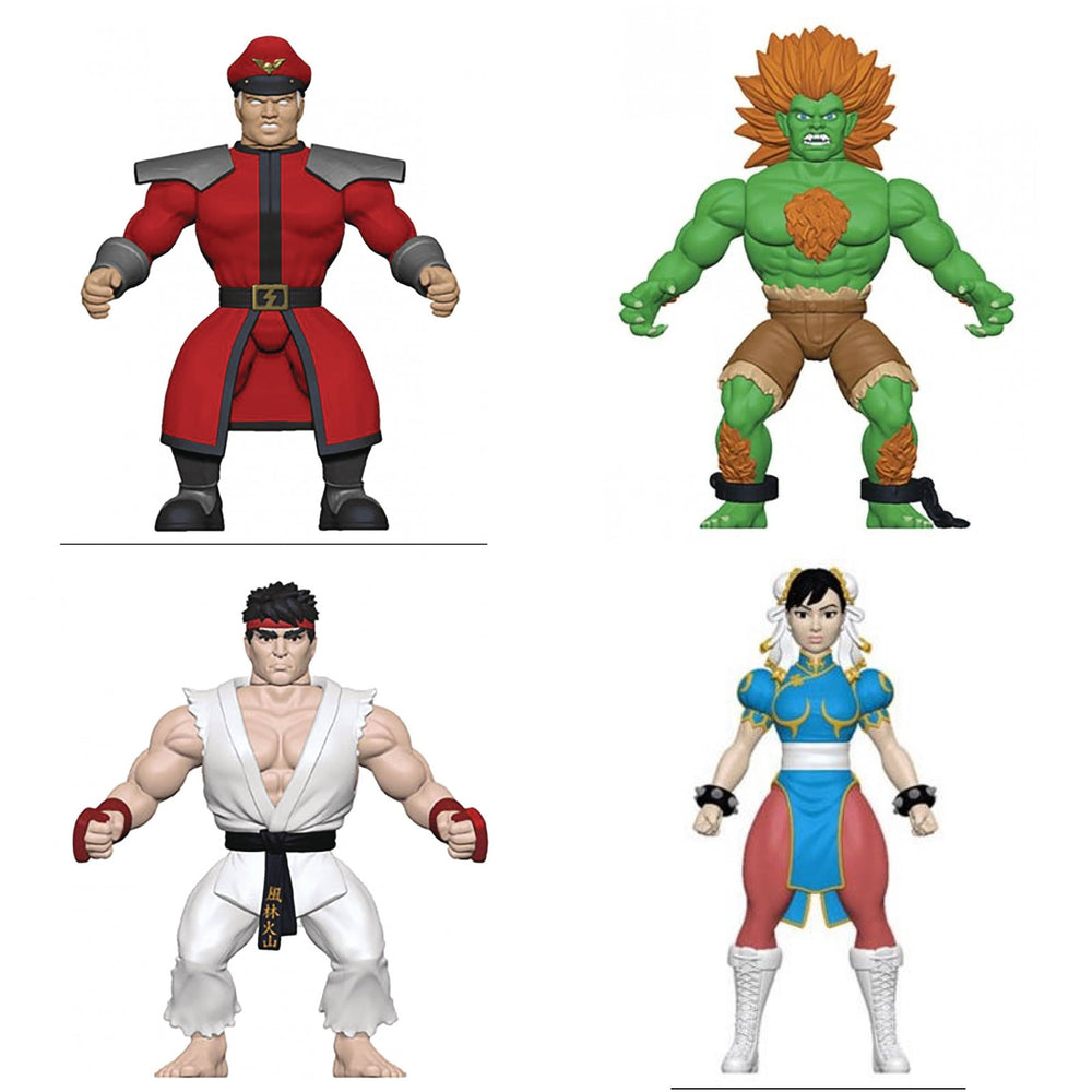 Funko Savage World: Street Fighter (Set of 4)