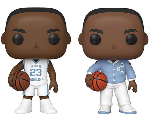 Funko Pop! Basketball: University of North Carolina Michael Jordan (Set of 2)