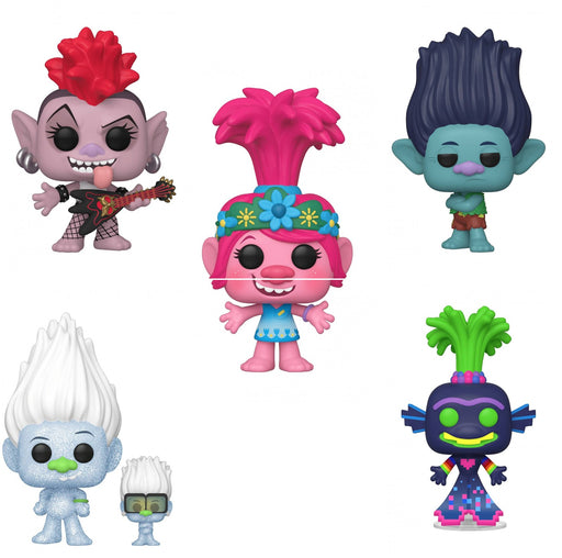 Funko Pop! Movies: Trolls World Tour (Set of 5)