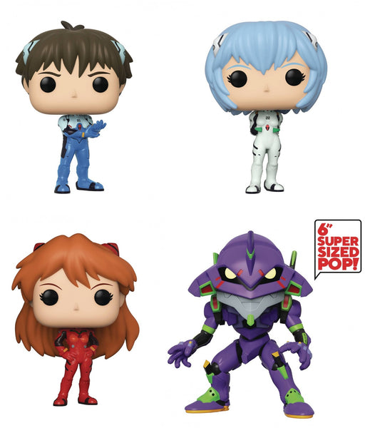 Funko Pop! Animation: Evangelion (Set of 4)