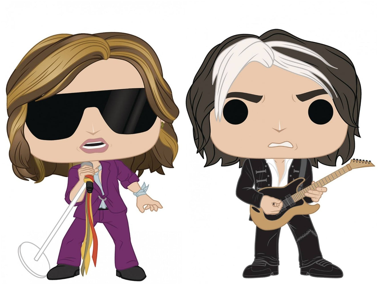 Funko Pop! Rocks: Aerosmith (Set of 2)