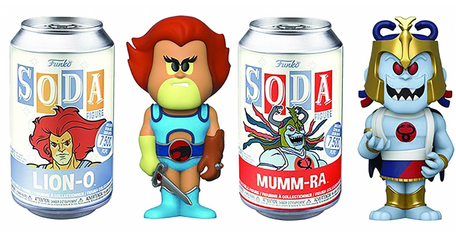 Funko Vinyl Soda: Thundercats (Set of 2)