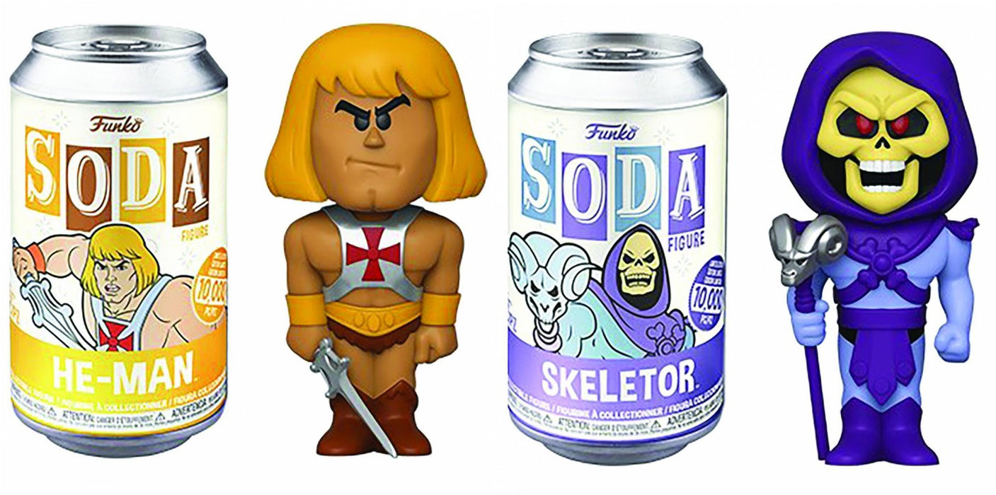 Funko Vinyl Soda: Masters of the Universe (Set of 2)