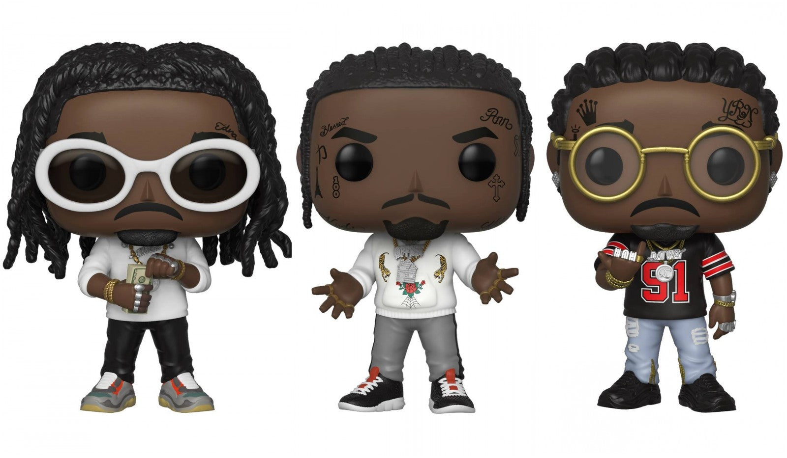Funko Pop! Rocks: Migos (Set of 3)