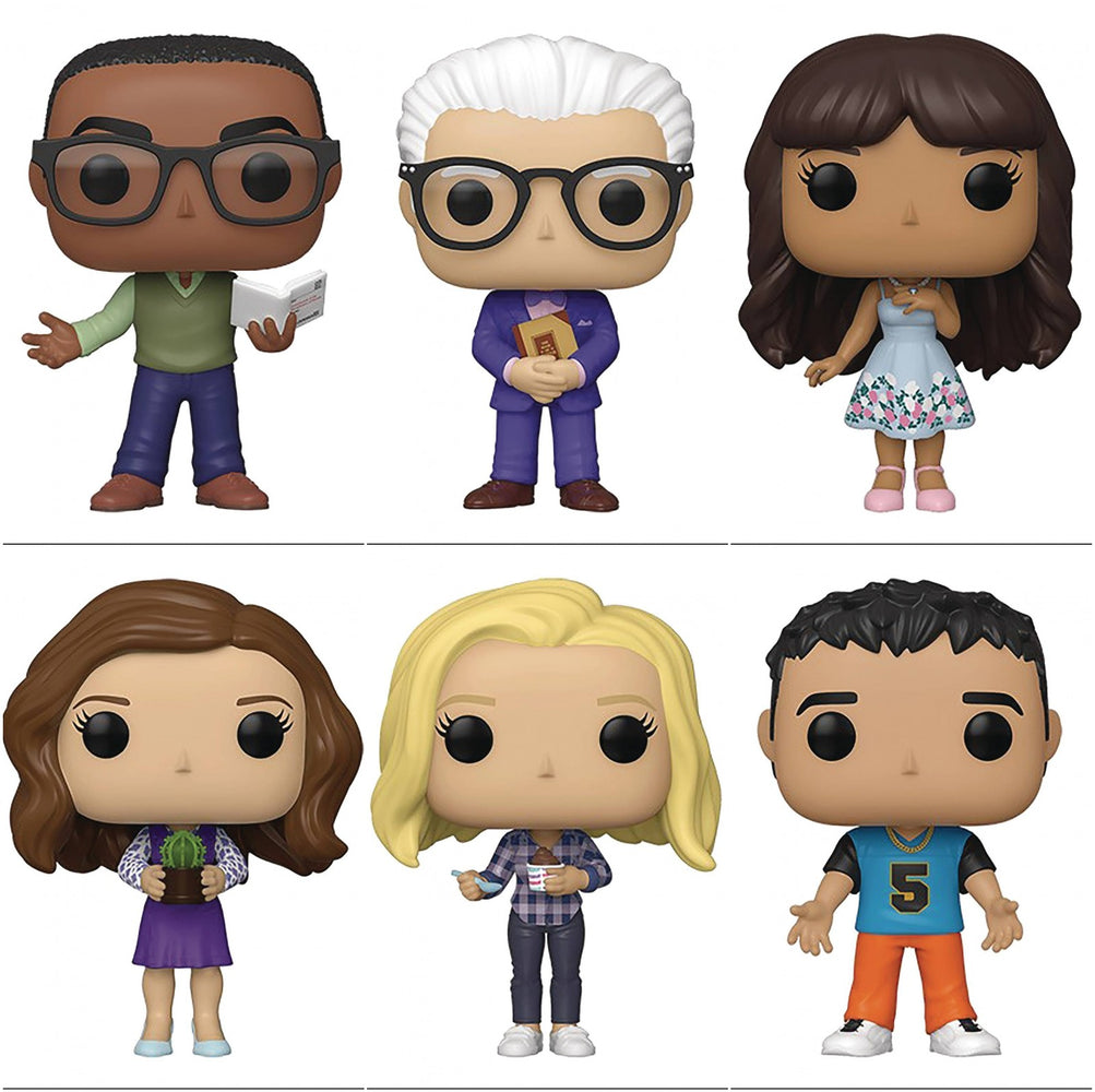 Funko Pop! Television: The Good Place (Set of 6)