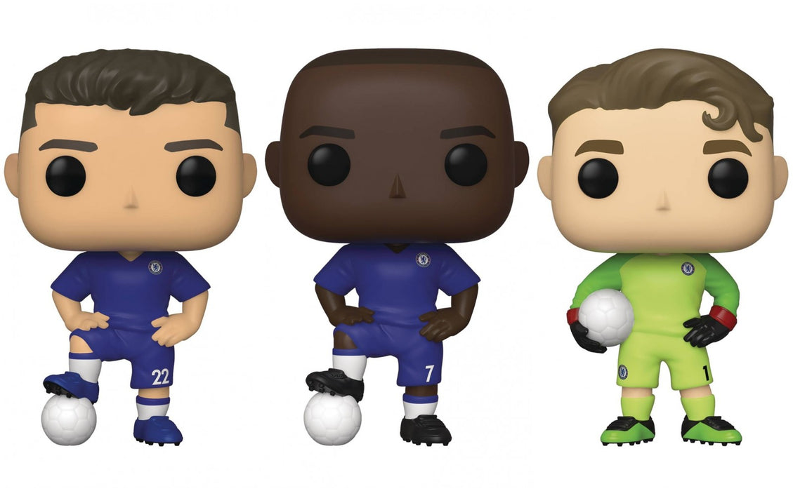Funko Pop! English Premier League: Chelsea (Set of 3)
