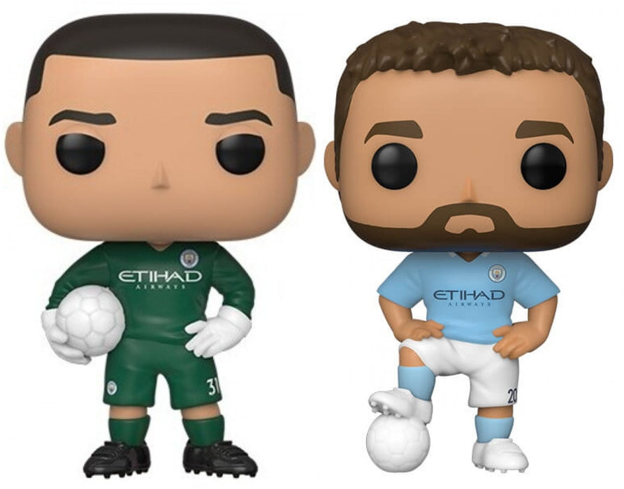 Funko Pop! English Premier League: Manchester City (Set of 2)