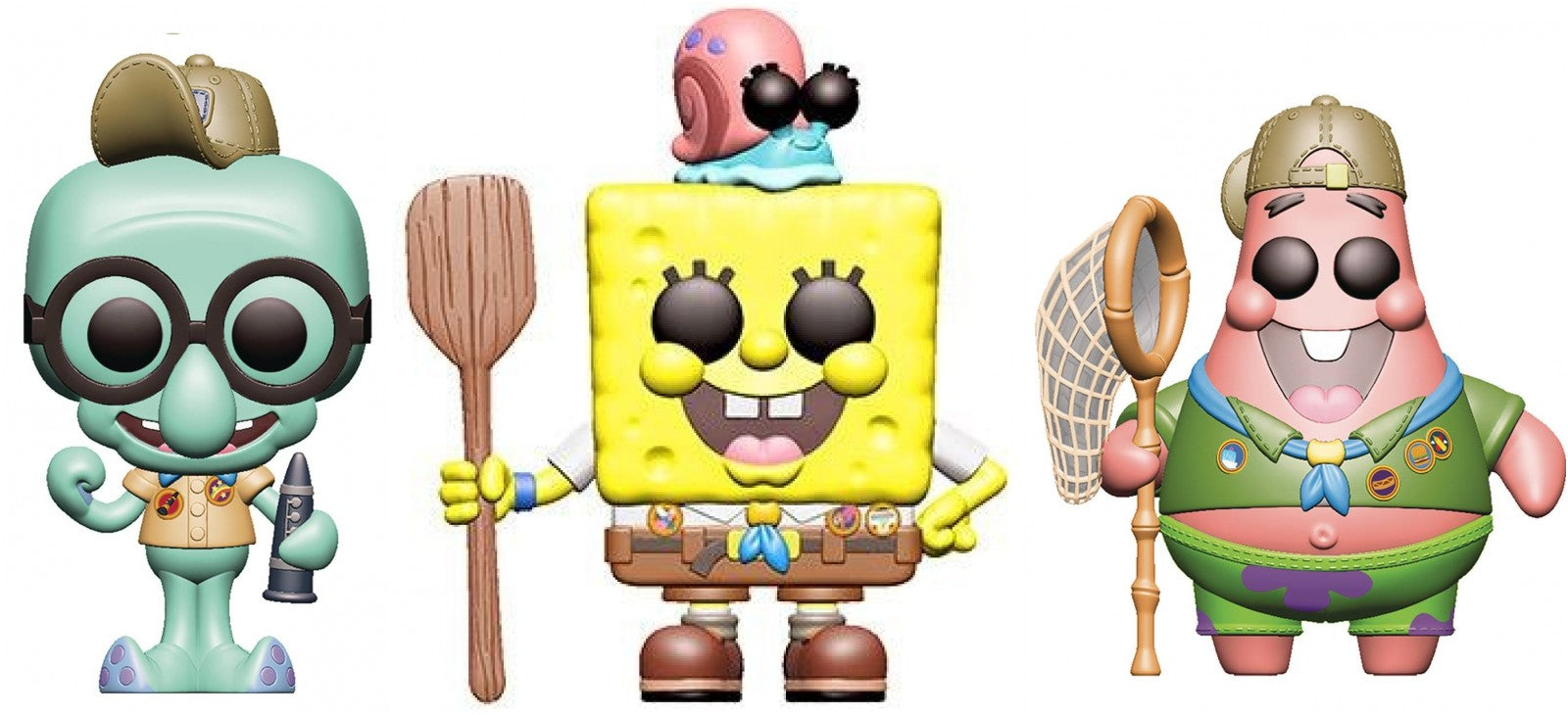 Funko Pop! Animation: SpongeBob SquarePants (Set of 3)