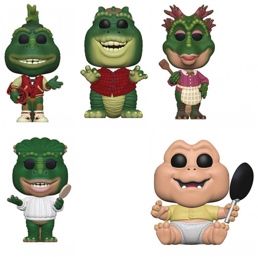 Funko Pop! Television: Dinosaurs (Set of 5)