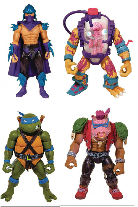Super7 Teenage Mutant Ninja Turtles Ultimates 7-inch Action Figures Wave 2 (Set of 4)