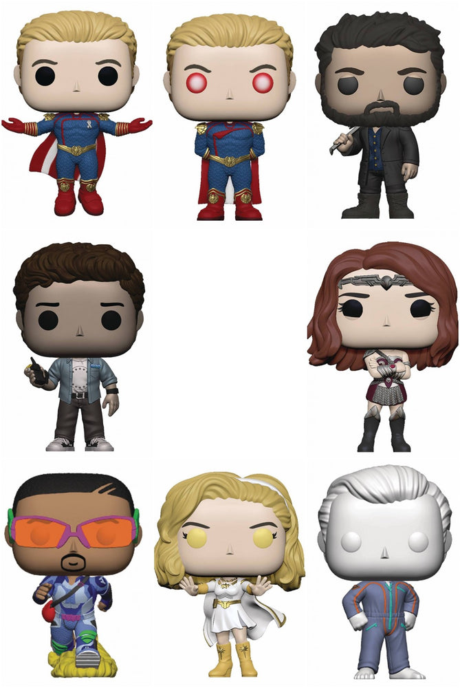 Funko Pop! Television: The Boys (Set of 8)