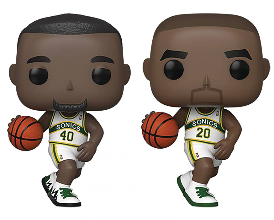 Funko Pop! NBA: Legends of the Seattle Supersonics (Set of 2)