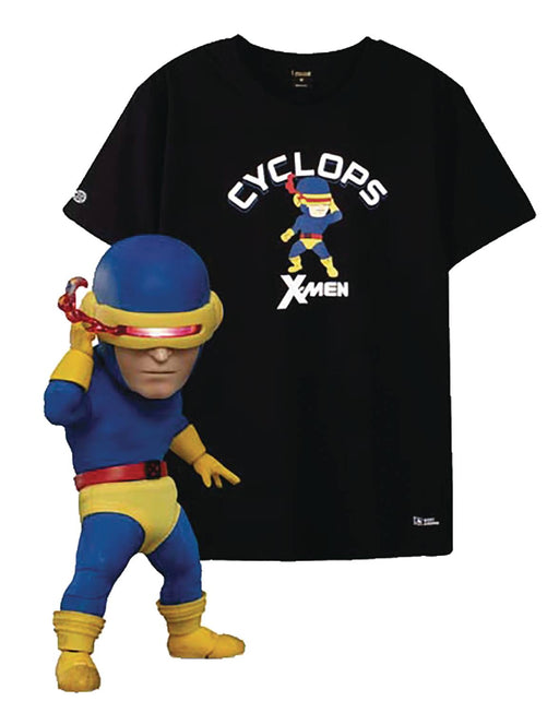 Beast Kingdom Egg Attack EAA-085DX Marvel - Cyclops with Bonus Size XL T-Shirt (2019 SDCC Exclusive)