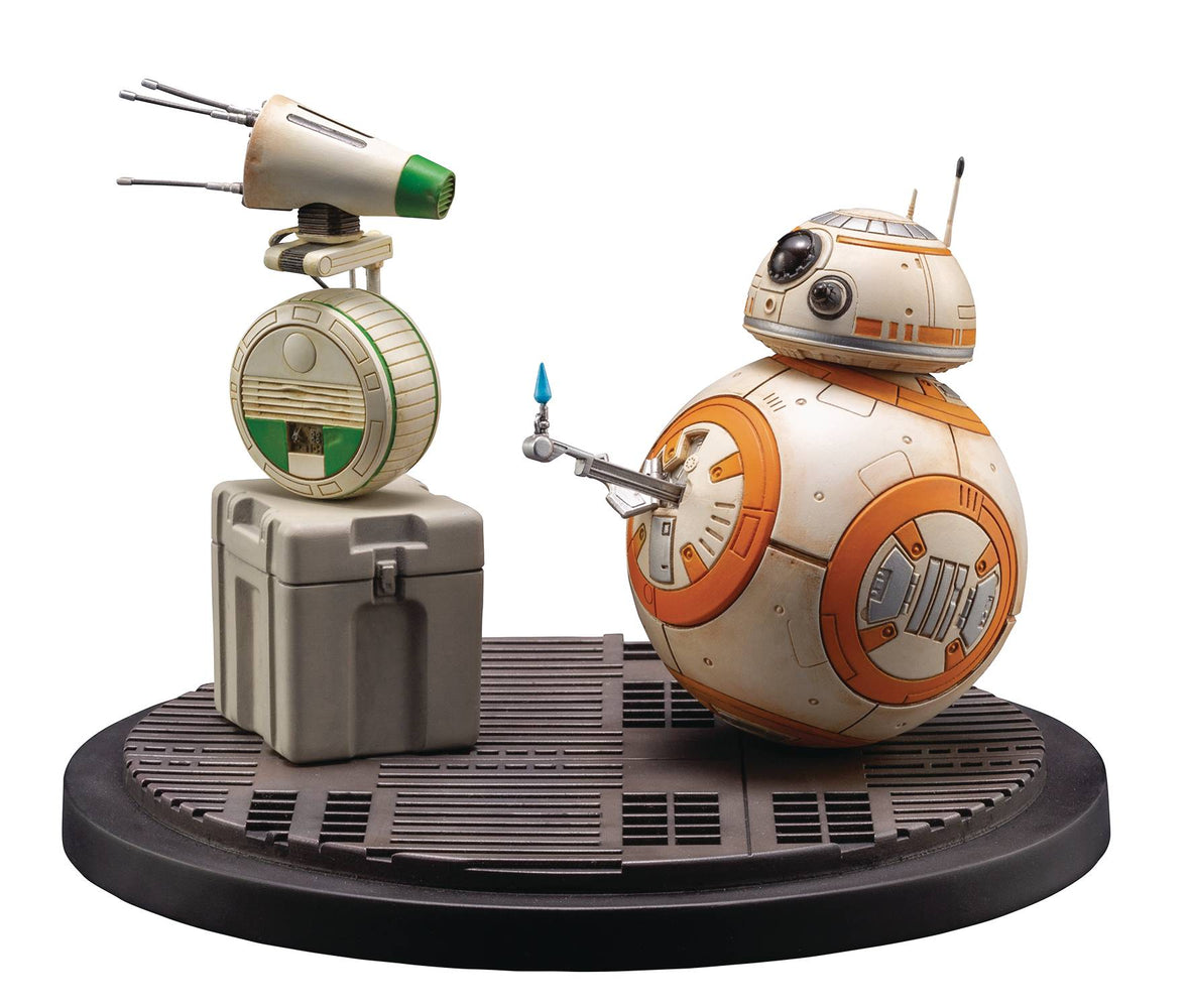 Kotobukiya Star Wars: The Rise of Skywalker - BB-8 & D-O ArtFX Statue