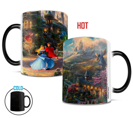 "Morphing Mugs ""Sleeping Beauty Dancing in the Enchanted Light"" by Thomas Kinkade Heat-Sensitive Mug"