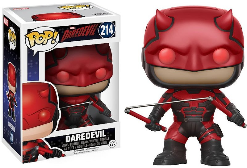 Funko Pop! Television: Daredevil - Daredevil (with Helmet)
