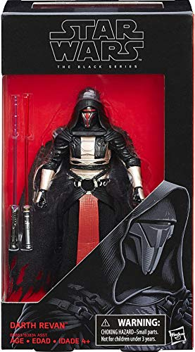 "Star Wars Black Series 6"" Darth Revan Action Figure"