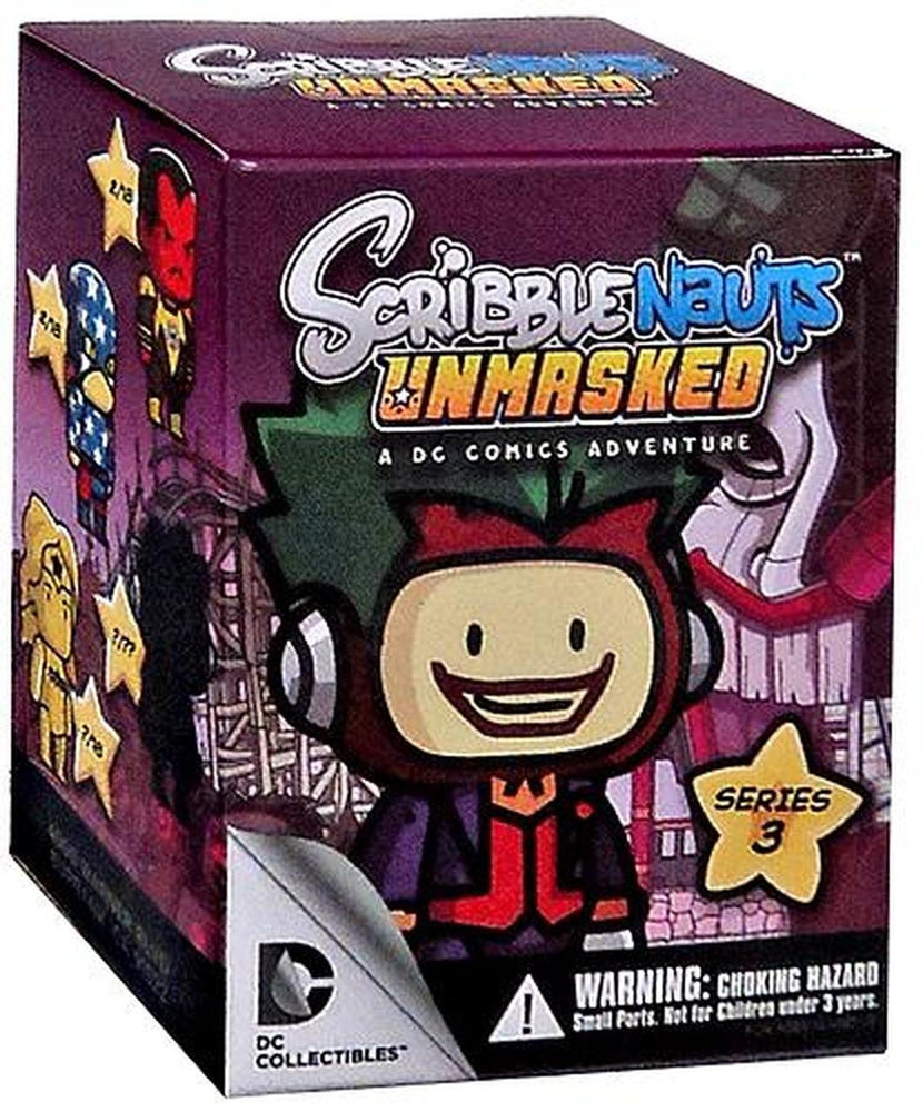 Scribblenauts Unmasked Series 3 Blind Box Mini Figure