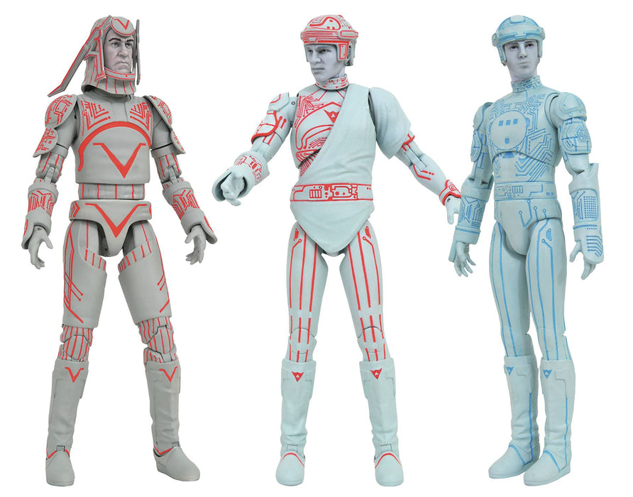 Diamond Select Toys Tron Series 1 Action Figures (Set of 3)