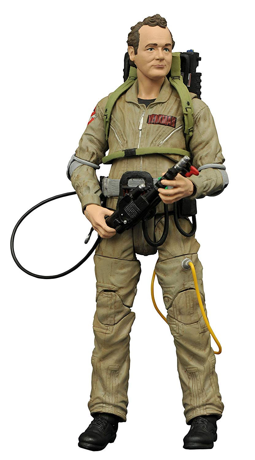 DIAMOND SELECT TOYS Ghostbusters 2 Select We/'re Back Peter Venkman Action